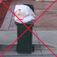 lids should be closed